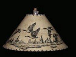 Geese lamp shade