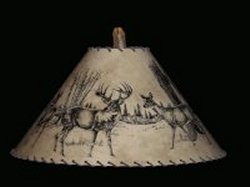 Whitetail Deer lamp shade