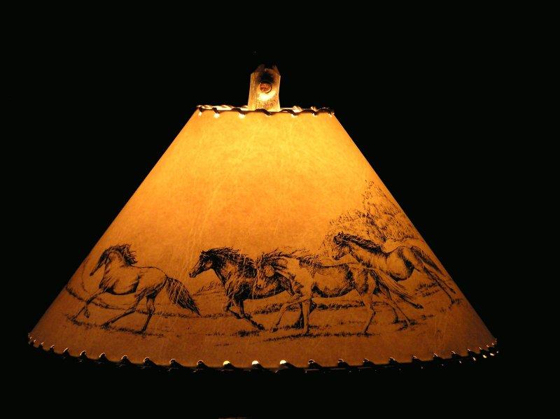 Rustic horse lamp shade horse lamp shade aloadofball Image collections